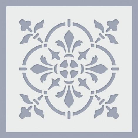 Stencil - Tile 07