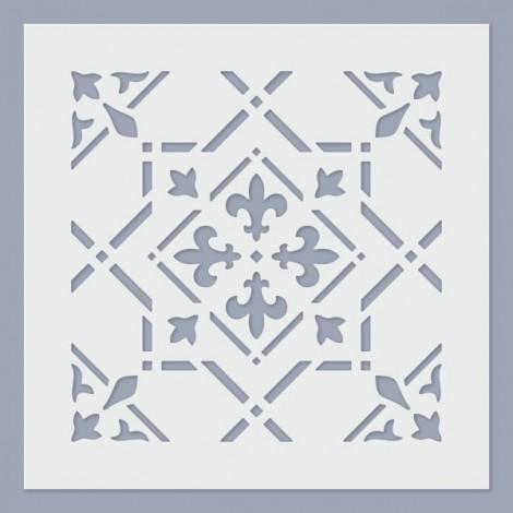 Stencil - Tile 08