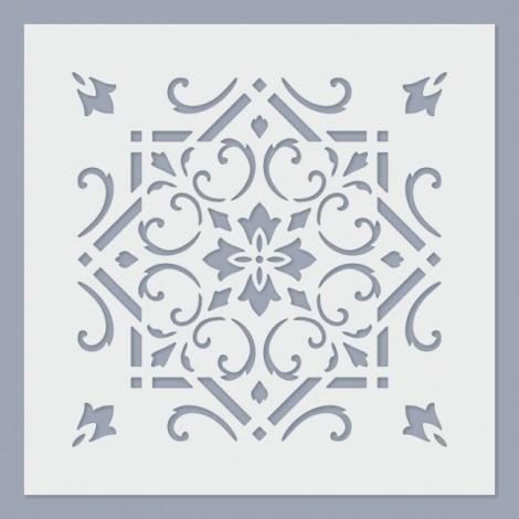Stencil - Tile 09