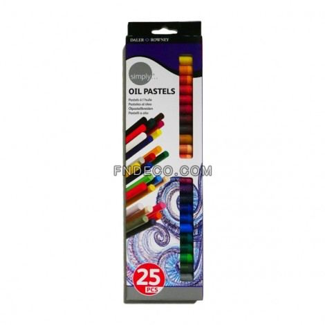 Daler-Rowney Oil Pastel Set of 25