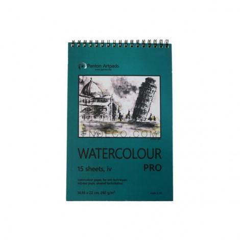 Watercolour Pro vázlatfüzet 01, 15 lap