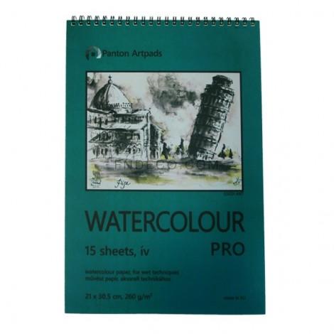 Watercolour Pro 02, 15 sheets