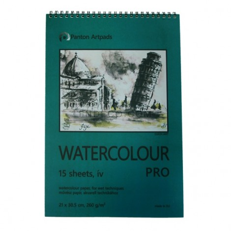 Watercolour Pro vázlatfüzet 02, 15 lap