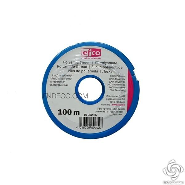 EFCO Transparent nylon beading thread, Ø 0.45 mm
