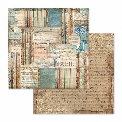 Kétoldalas scrapbook papír - SBB-564