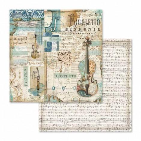 Kétoldalas scrapbook papír - SBB-565