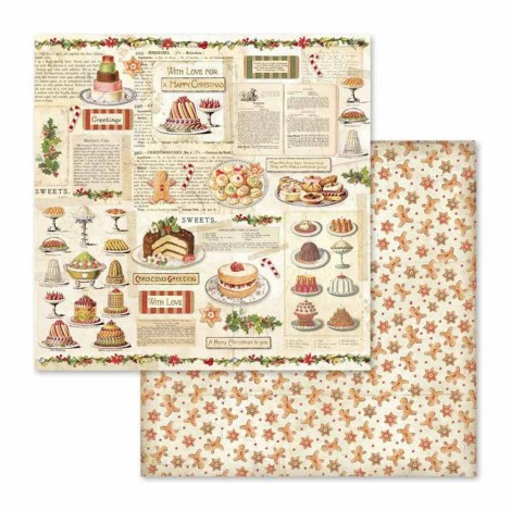 Double-sided Scrapbook Paper - SBB-568
