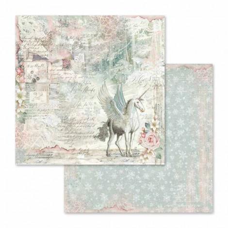 Kétoldalas scrapbook papír - SBB-558