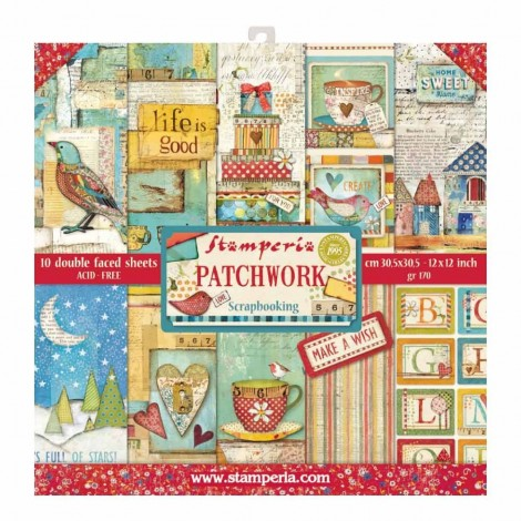 Scrapbooking Paper Pack - Patchwork
