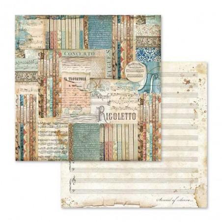 Scrapbooking Paper Pack - Music