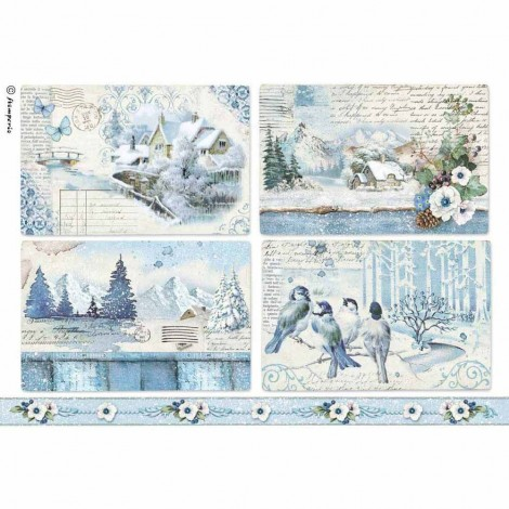 Rice Paper Napkins - A4 - DFSA4339