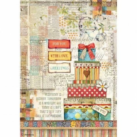 Rice Paper Napkins - A4 - DFSA4331