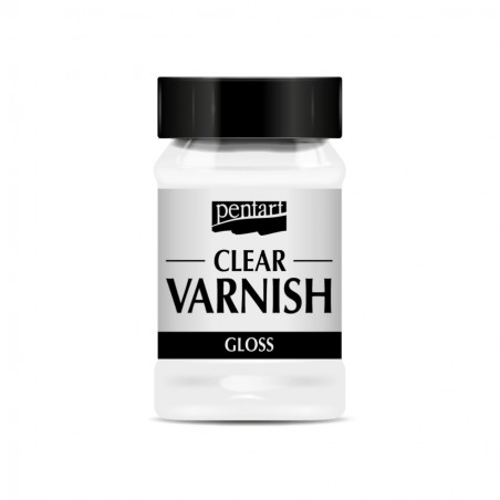 Clear Glossy Varnish, 100 ml