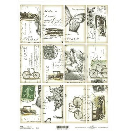Rice Paper Napkins - A4 - R543