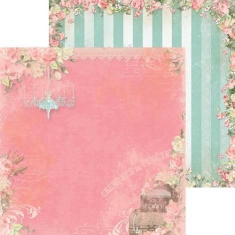 Double-sided Scrapbook Paper - Soirée Charm