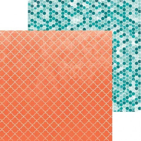 Double-sided Scrapbook Paper - Forever Young