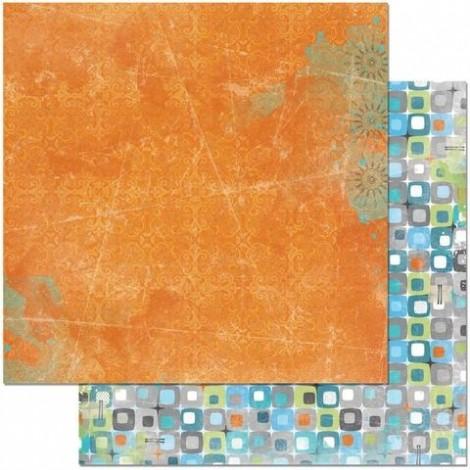 Kétoldalas scrapbook papír - Life in Color