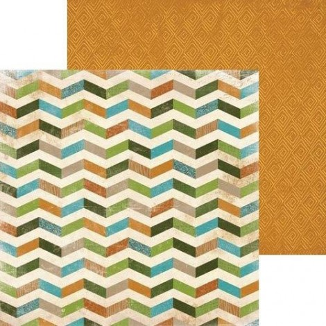 Double-sided Scrapbook Paper - Safari