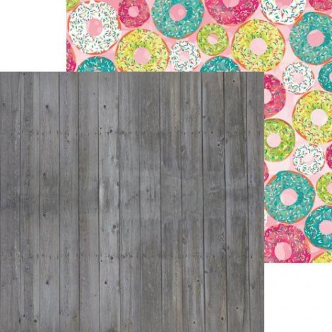 Double-sided Scrapbook Paper -  Forever Young Smile