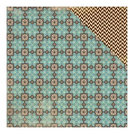 Double-sided Scrapbook Paper - Ancestry