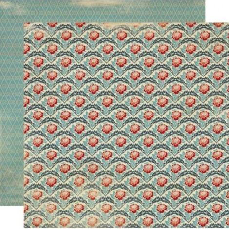 Kétoldalas scrapbook papír - Tradition