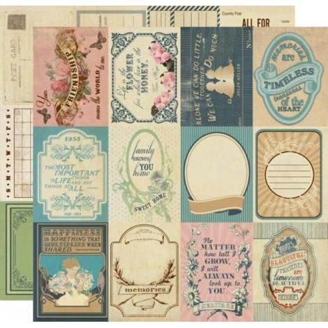 Kétoldalas scrapbook papír - Enhancements