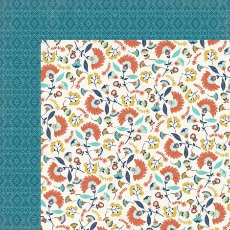 Double-sided Scrapbook Paper - Happy Camper