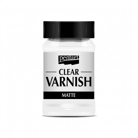 Clear Matte Varnish, 100 ml