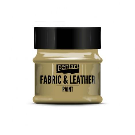 Pentart Textil & Bőrfesték, csillogó színek, 50 ml