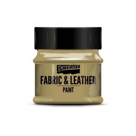 Pentart Fabric & Leather paint, glitter, 50 ml