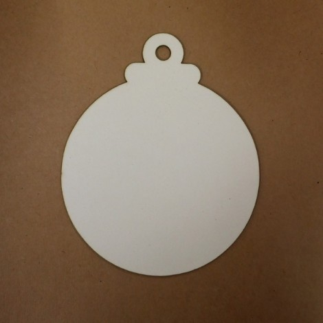 Chipboard - Christmas ornament