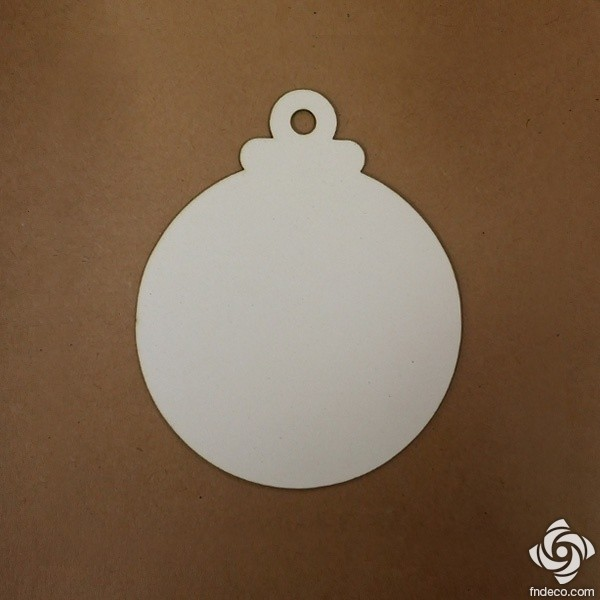 Chipboard - Christmas ornament 02