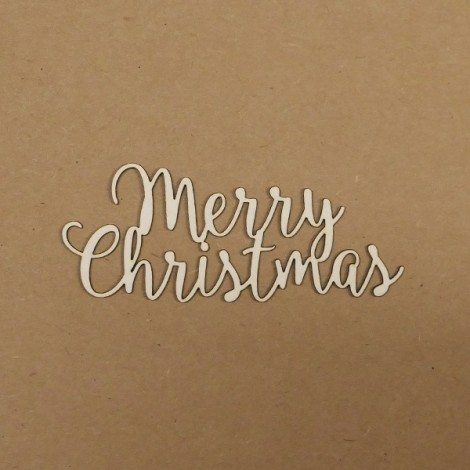 Chipboard - Merry Christmas