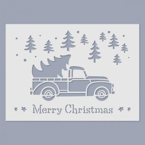 Stencil - Merry Christmas