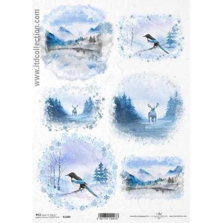 Rice Paper Napkins - A4 - R1486