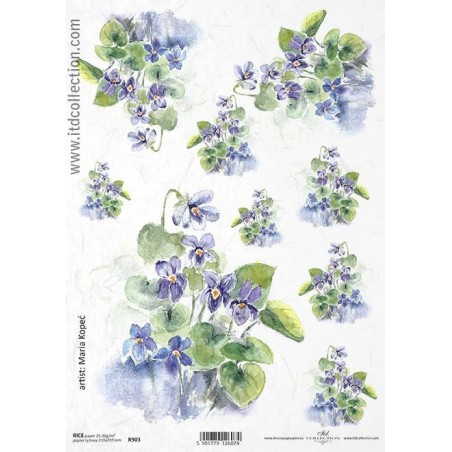 Rice Paper Napkins - A4 - R903