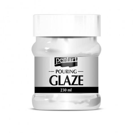 Pentart Pouring Glaze - Pouring lakk, 230 ml
