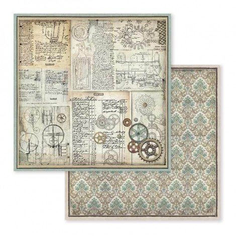 Double-sided Scrapbook Paper - SBB-598