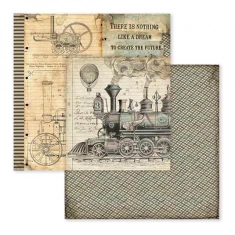 Kétoldalas scrapbook papír - SBB-600
