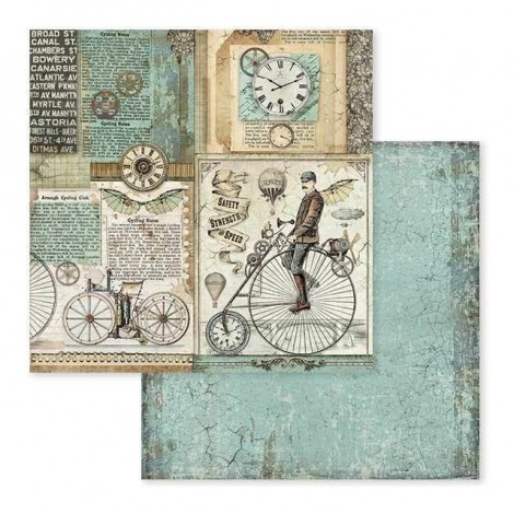Double-sided Scrapbook Paper - SBB-602