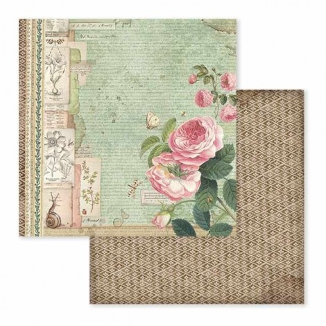 Scrapbook papír tömb - Spring Botanic
