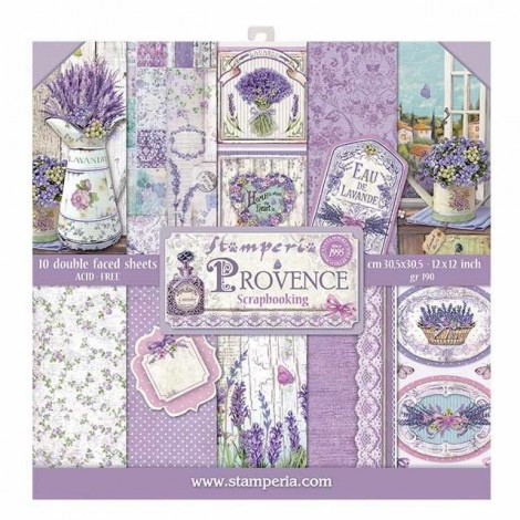 Scrapbooking Paper Pack - Provence