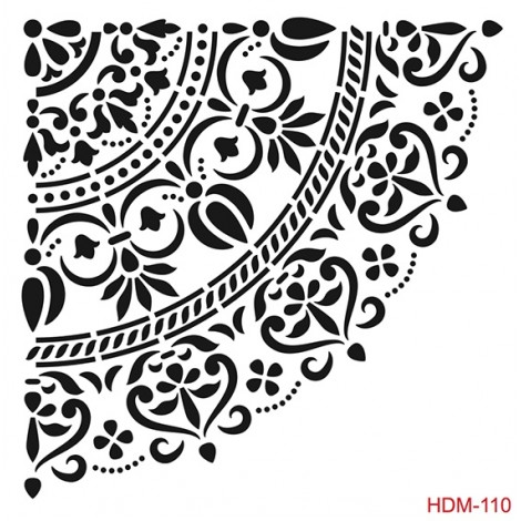 Home Decor Stencil - HDM-110