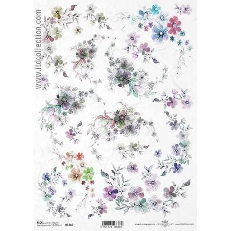 Rice Paper Napkins - A4 - R1369