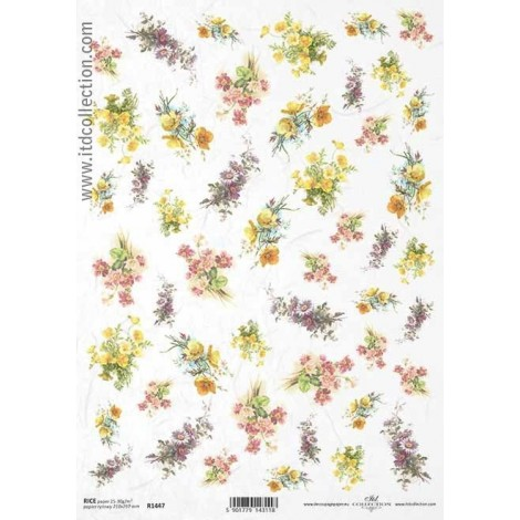 Rice Paper Napkins - A4 - R1447