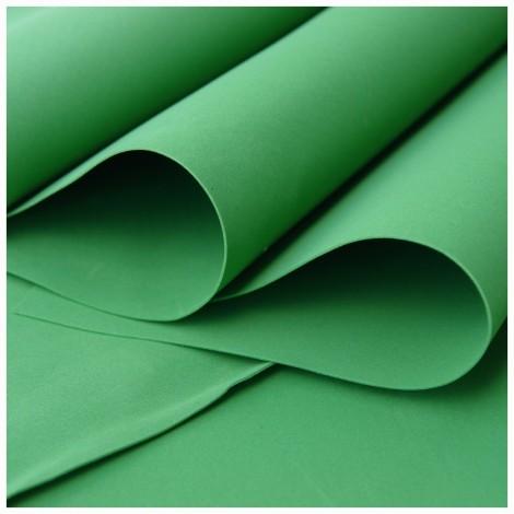 Foamiran, zöld, 30x35cm