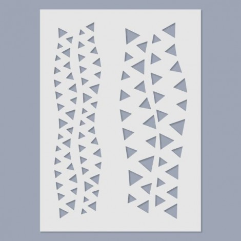 Stencil - Triangles 02