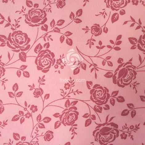 Felt sheet - roses 04