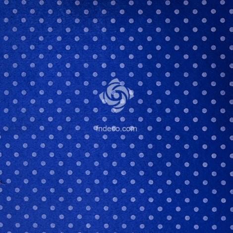 Felt sheet - polka 09