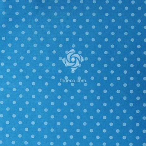 Felt sheet - polka 10